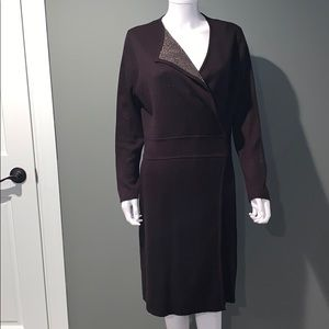 Dresses - MARC NEW YORK WOMANS black sweater dress SZ.XL